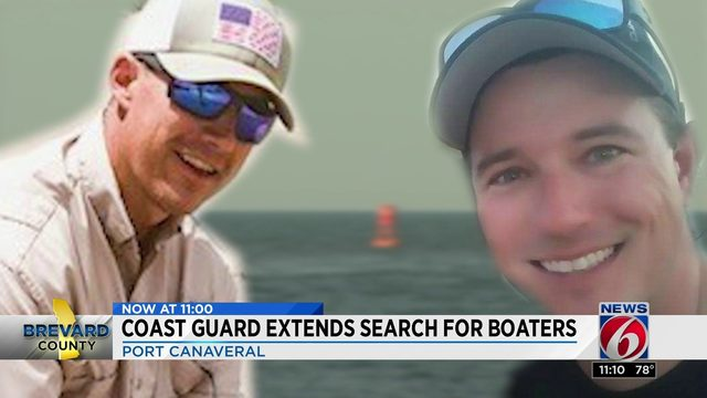 Coast Guard extends search for boaters