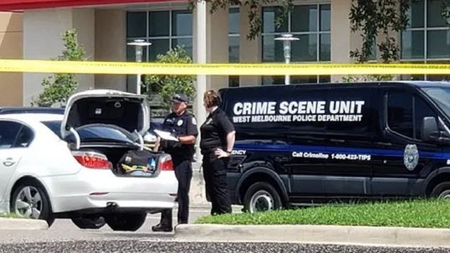 Woman's body found in car at Brevard shopping plaza