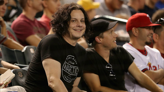 Jack White attended baseball game, left to play concert, then returned…