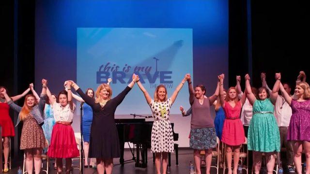 Performers deliver mental health message