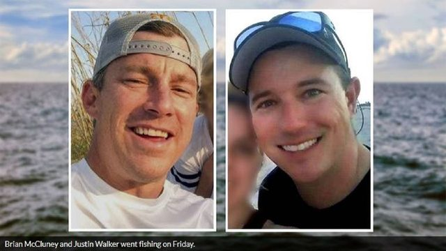 Search continues for 2 firefighters missing on Florida fishing trip
