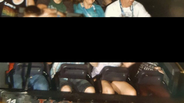 Universal riders photographed making white supremacy, Nazi gestures