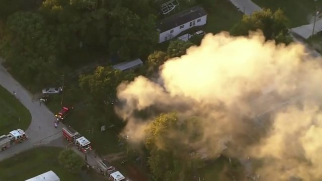 At least 10 people injured in Seminole County fire