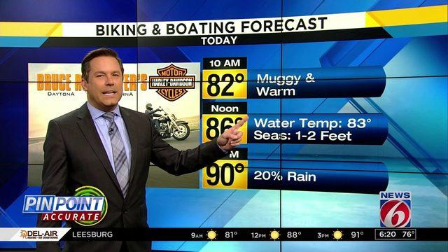 Biking & Boating forecast: Great day to swim, bike