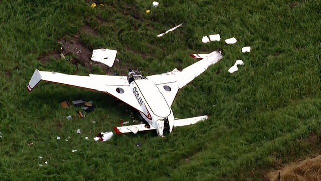 WATCH LIVE: Sky 6 flies over scene of reported plane crash in Osceola