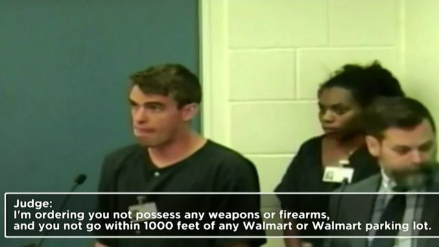Who monitors suspects who make mass shooting threats?