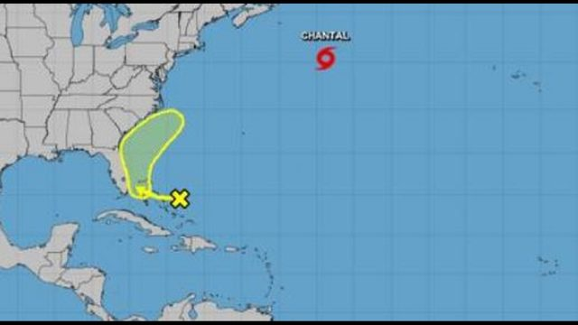 Hurricane center eyes weather system near Florida
