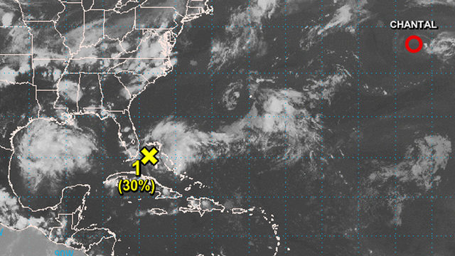 System near Bahamas could bring heavy rain to Florida this weekend