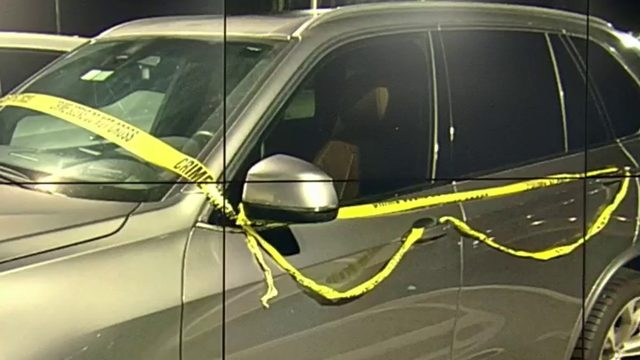 Here's what it means when cars are wrapped in yellow caution tape