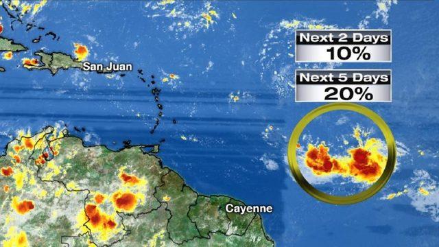 Tropics heat up as hurricane center eyes 2nd system