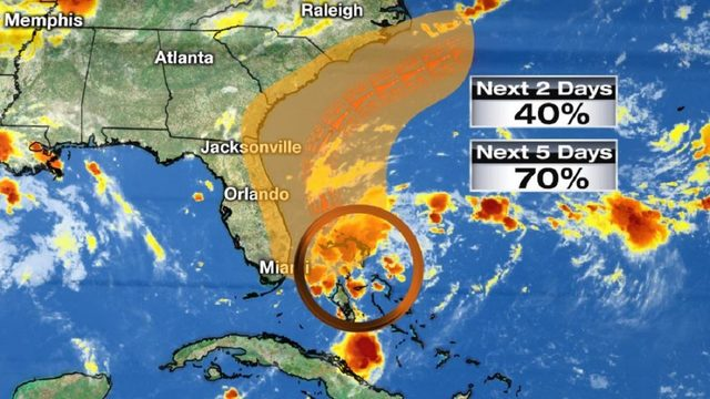 Here's how weather system in tropics will affect Central Florida