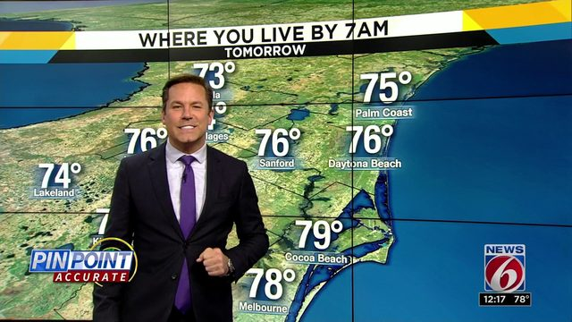 Troy Bridges extended forecast - News 6 at noon