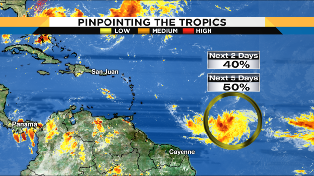 Tropics heat up as hurricane center eyes 2nd system