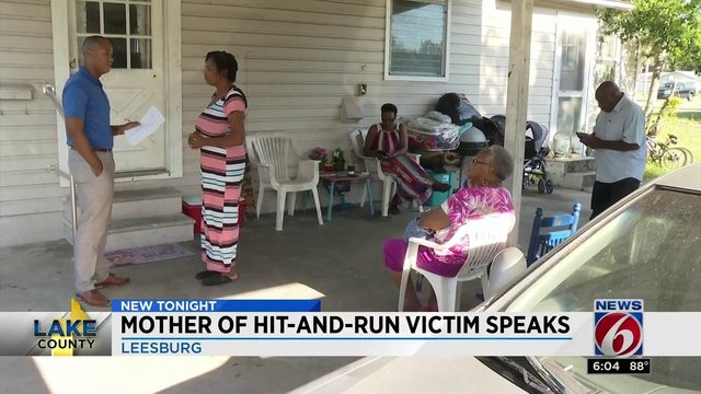 Mother of hit and run victim speaks