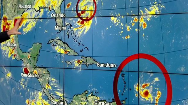 Here's the latest on Tropical Storm Dorian's path