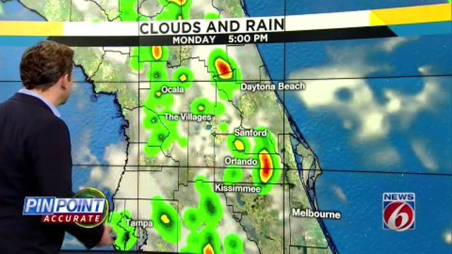 Rain chances ramp back up in Central Florida