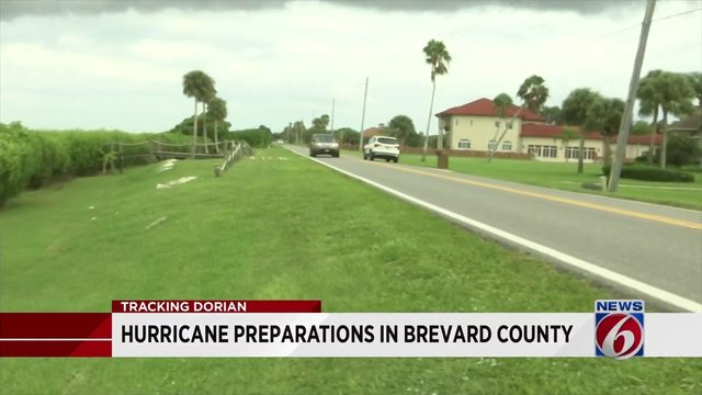 Brevard County residents plan ahead of Hurricane Dorian's expected landfall