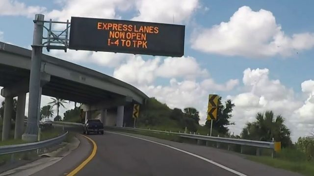 Using the new express lanes