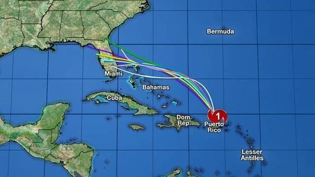 UPDATES: Track, computer models, satellite for Hurricane Dorian
