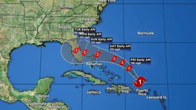 WATCH LIVE: Volusia emergency officials give update on Hurricane Dorian