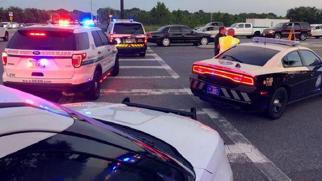 Orange County deputy suffers broken arm and leg, head injury in crash
