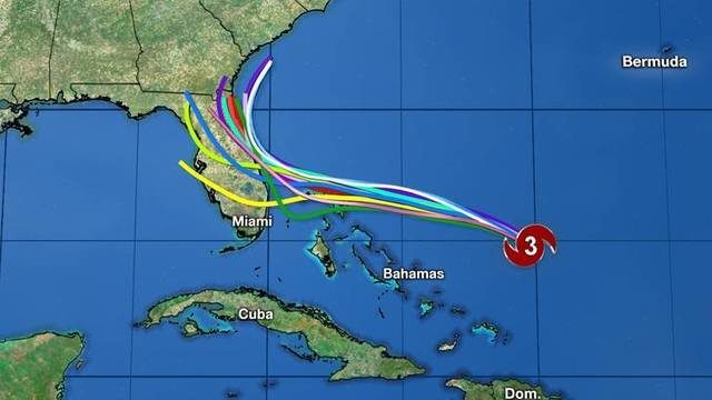 Hurricane Dorian becomes Cat 3, Central Florida remains in storm's path