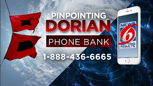Get your Hurricane Dorian questions answered: 1-888-436-6665