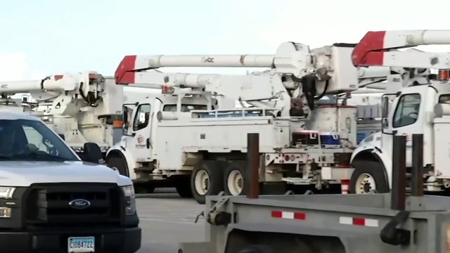 Power crews from across the US arrive in Volusia County ahead of…
