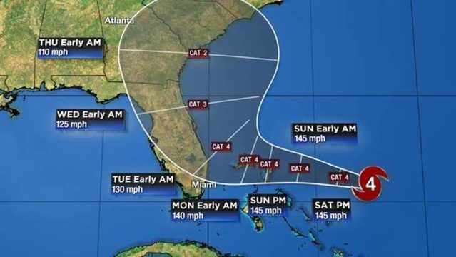 WATCH LIVE UPDATES: Track, models, forecast for Dorian