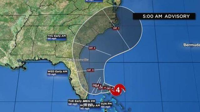 WATCH LIVE UPDATES: Latest track, models, forecast for Hurricane Dorian