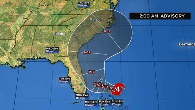WATCH LIVE: Hurricane Dorian updates from the News 6 weather center