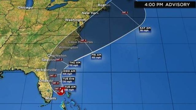 WATCH LIVE UPDATES: Track, computer models, radar for Hurricane Dorian