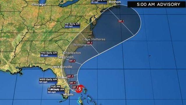 WATCH LIVE UPDATES: Track, computer models, satellite for Hurricane Dorian