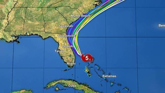 Hurricane Dorian: What will make it turn north?