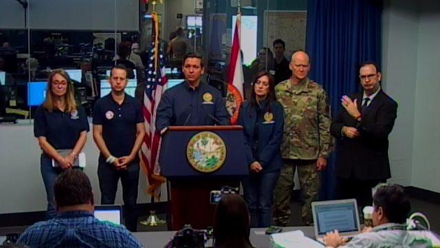 Gov. Ron DeSantis provides Hurricane Dorian update
