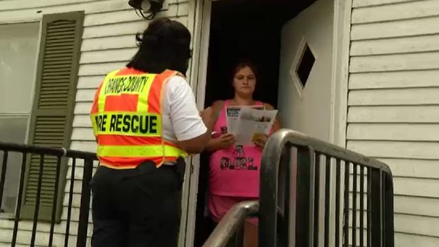 Orange County Fire Rescue knocking on 7,000 doors Monday, warn residents…