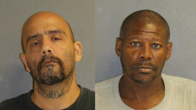Men accused of stealing sandbags from Florida construction site