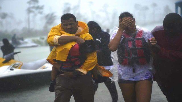 10 Powerful photos depicting Hurricane Dorian's impact