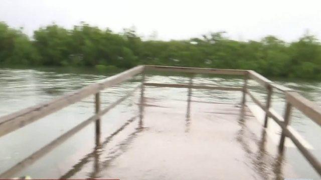 Hurricane Dorian brings standing water in Volusia County