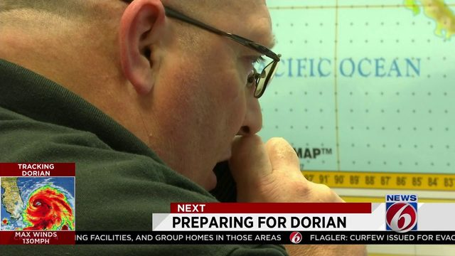 Orange County Command Center prepared for Hurricane Dorian