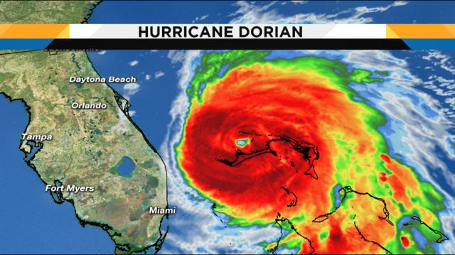 WATCH LIVE UPDATES: Track, Computer Models for Hurricane Dorian