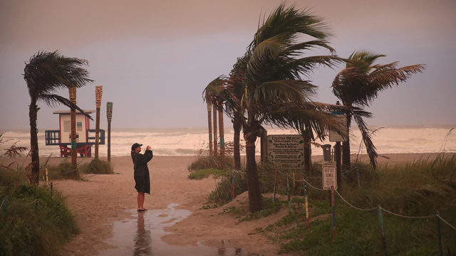 9 powerful photos as Hurricane Dorian lingers offshore in Florida
