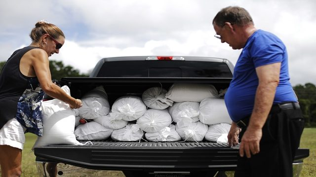 Here's what to do with your sandbags after Hurricane Dorian