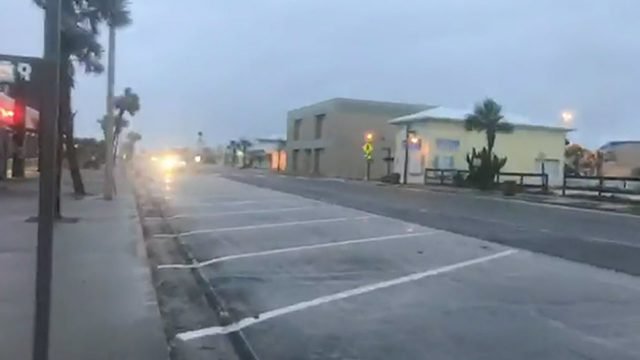 Rain, wind picking up in Flagler County
