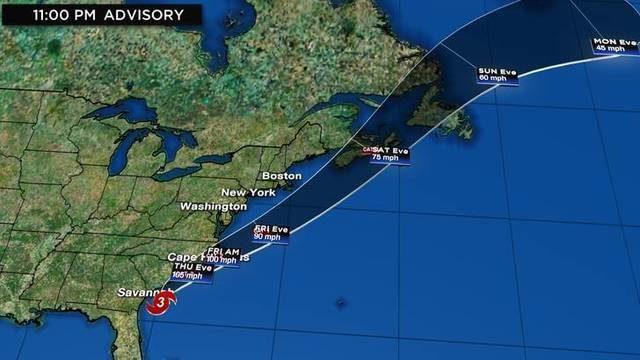 WATCH LIVE UPDATES: Track, computer models, radar for Hurricane Dorian