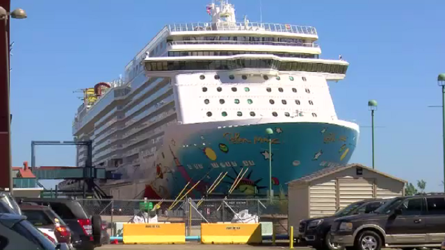 What happens to all the cruise ships now that Dorian has passed Central Florida?
