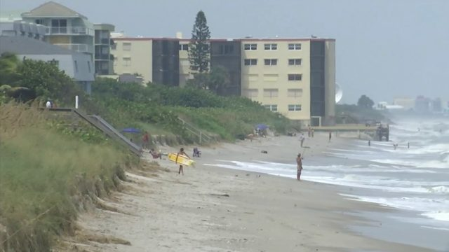 Brevard County continuing to calculate beach erosion