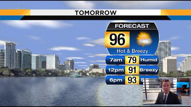 Heat Index could reach 104 on Friday in Orlando