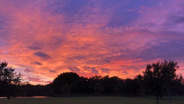 Why storms produce beautiful sunsets, sunrises
