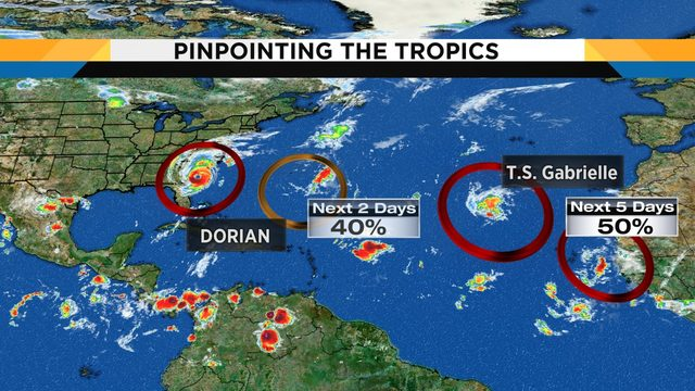Hurricane center now watching 5 systems in tropics